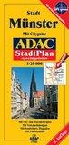 ADAC Stadtplan Stadt Münster 1 : 20 000. Spezialgefaltet: Mit Cityguide. Mit Cityplan. Mit Netzplan der Buslinien. Mit Postleitzahlen