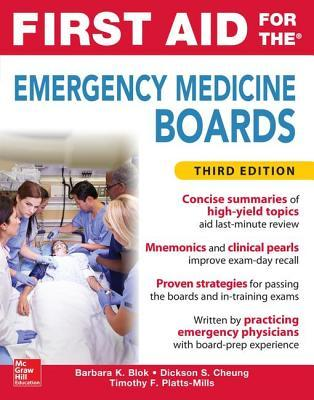 First Aid for the Emergency Medicine Boards, Third Edition