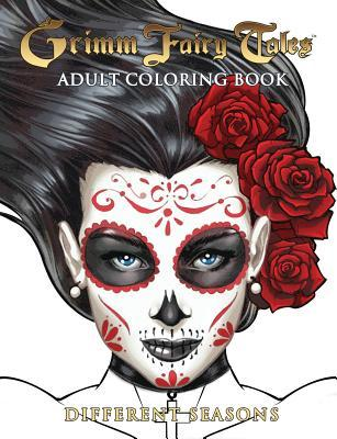 Grimm Fairy Tales Adult Coloring Book Different Seasons