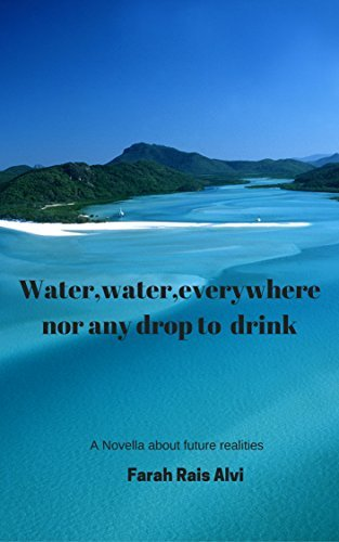 Water,water,everywhere,nor any drop to drink