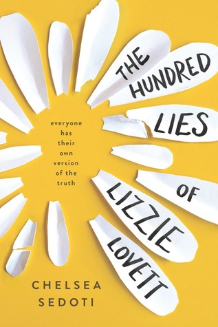 Cover of Book of the Month: November – The Hundred Lies of Lizzie Lovett
