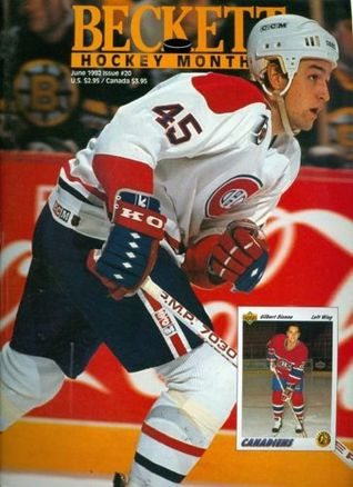 1992 Beckett Hockey Magazine #20: Gilbert Dionne - Montreal Canadiens
