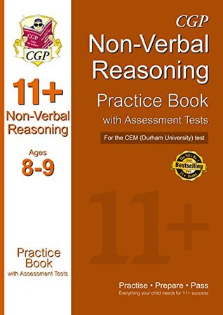 11+ Non-Verbal Reasoning Practice Book with Assessment Tests (Ages 8-9) for the CEM Test