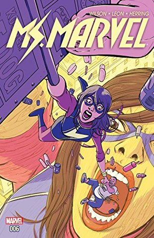 Ms. Marvel (2015-2019) #6