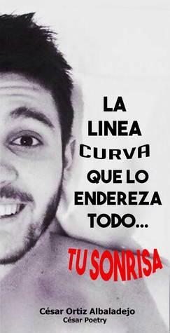 La línea curva que lo endereza todo... tu sonrisa