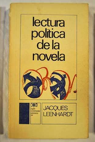 Lectura política de la novela. La celosía de Alain Robbe-Grillet