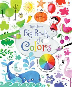 The Usborne Big Book of Colors by Felicity Brooks