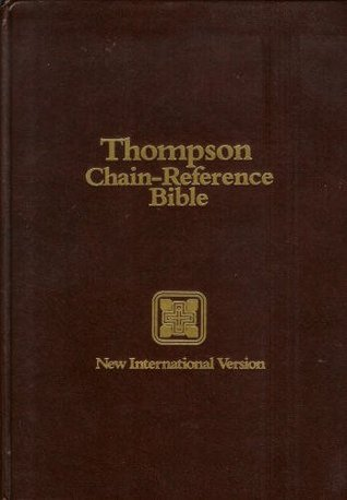 Thompson Chain-Reference Bible NIV Hardcover Indexed by Frank Charles Thompson