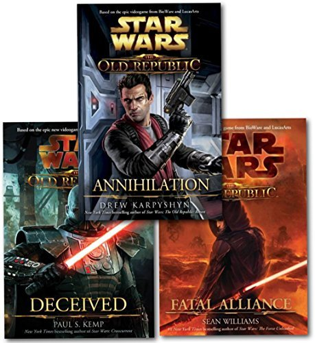 Star Wars The Old Republic Series Collection 3 Books Set-Fatal Alliance, Annihilation, Deceived