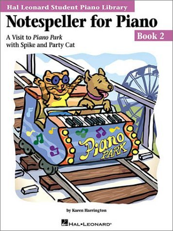 HAL LEONARD STUDENT PIANO LIBRARY NOTESPELLER FOR PIANO BOOK 2 PF