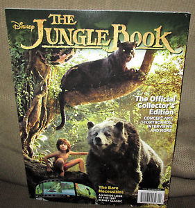 Disney The Jungle Book 2016 Movie Magazine The Official Collector's Edition new