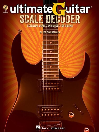 Charupakorn Joe Ultimate Guitar Scale Decoder Scales Modes Gtr Bk/Cd