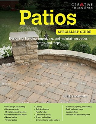 Patios: Designing, building, improving and maintaining patios, paths and steps
