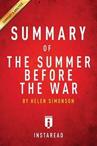 Summary of The Summer Before the War: by Helen Simonson | Includes Analysis