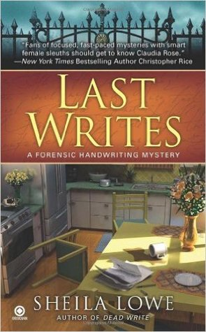 Last Writes (Forensic Handwriting Mystery, #4)