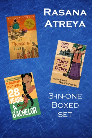 Rasana Atreya's Boxed Set: Tell A Thousand Lies, The Temple Is Not My Father, 28 Years A Bachelor