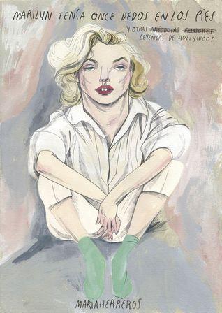 Marilyn tenía 11 dedos en los pies