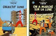 Les aventures de Tintin: objectif lune - on a marché sur la lune