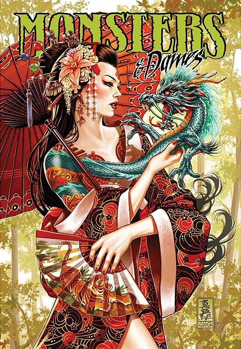 Monsters & Dames 2015 Art Book: Emerald City Comicon