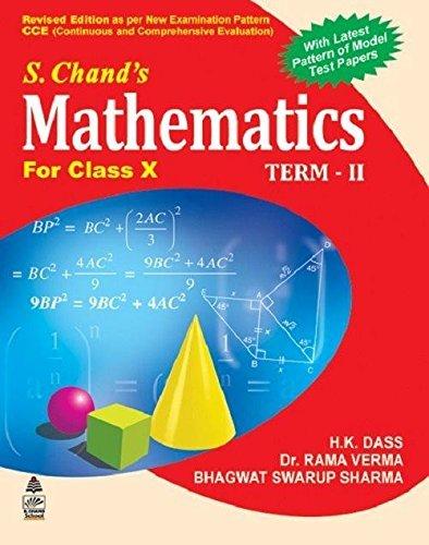 S. Chand's Mathematics For Class X