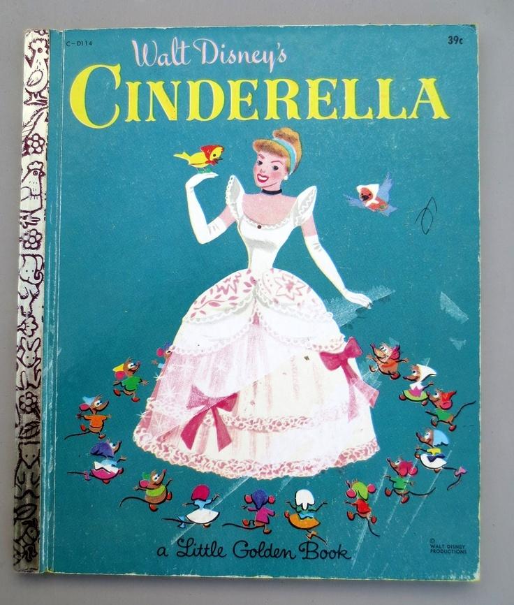 Walt Disney's Cinderella (a Little Golden Book, #D114)