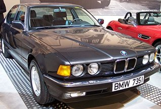 BMW E32 - Serie 7 - Manual owner