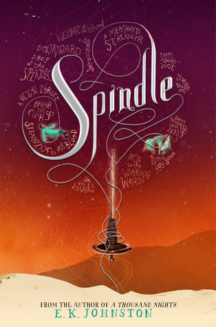 Spindle by E.K. Johnston thumbnail