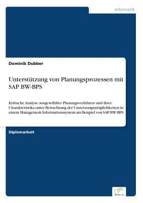 Unterstutzung Von Planungsprozessen Mit SAP Bw-Bps