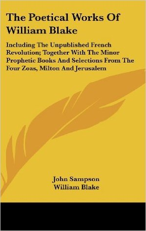 william blake the french revolution