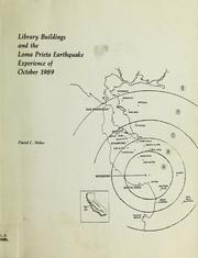 Library Buildings and the California Earthquake Experience of October 1989