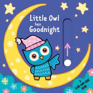 Little Owl Says Goodnight: A Slide-and-Seek Book