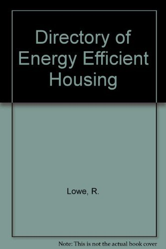 Directory of Energy Efficient Housing