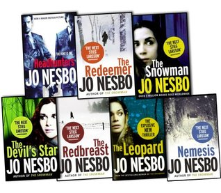 Jo Nesbo 7 Books Collection Set Pack (The Leopard, The Devils Star, Headhunters, The Redbreast, Nemesis, The snowman, The Redeemer)