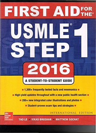 First Aid For The USMLE Step 1 26ed 2016