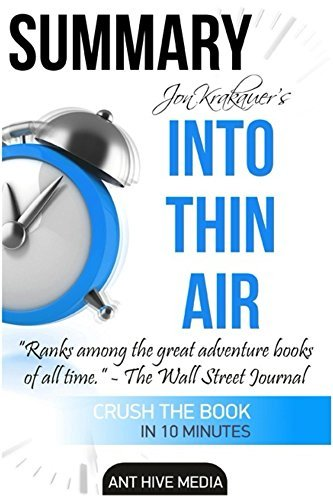 Jon Krakauer's Into Thin Air: A Personal Account of the Mt. Everest Disaster