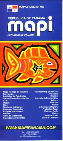 Republic of Panama Map/Guide by Mapi Panama