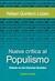 Nueva crítica al populismo: Debate en las Ciencias Sociales