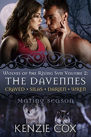 The Davennes: Wolves of the Rising Sun, Vol 2 Box Set (Wolves of the Rising Sun, #4-7; Mating Season)
