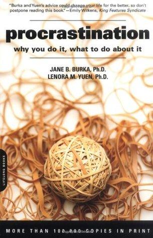 Procrastination by Jane B. Burka