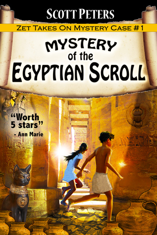 Mystery of the Egyptian Scroll (Zet Mystery Case #1)