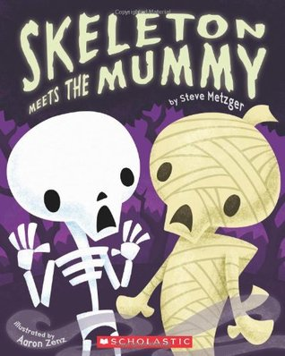 Skeleton Meets The Mummy (Big Book)