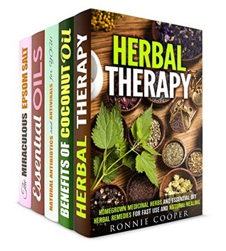 Natural Herbal Remedies Box Set (5 in 1)