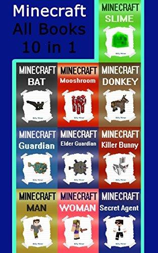 Minecraft: All 10 Minecraft Books in 1 Minecraft Bundle (Minecraft, Minecraft Book Collection, Minecraft Combo, Minecraft Bundle, Minecraft Box Set, Minecraft Book Set)
