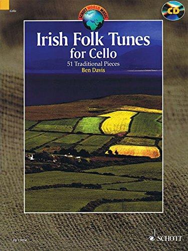 Irish Folk Tunes for Cello: 51 Traditional Pieces