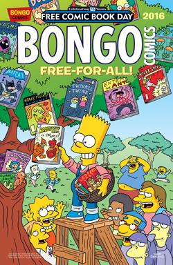 FCBD 2016 Bongo Free-For-All! Comics