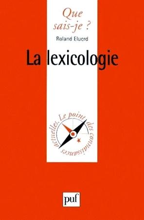 La lexicologie por Roland Eluerd