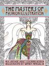 Adult Coloring Book Vintage Series The Masters Of Fashion Illustration