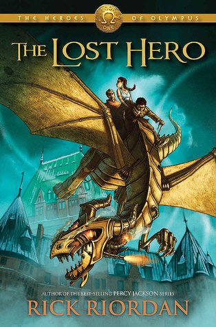Hasil gambar untuk Novel The Heroes of Olympus (the lost hero) – Rick Riordan