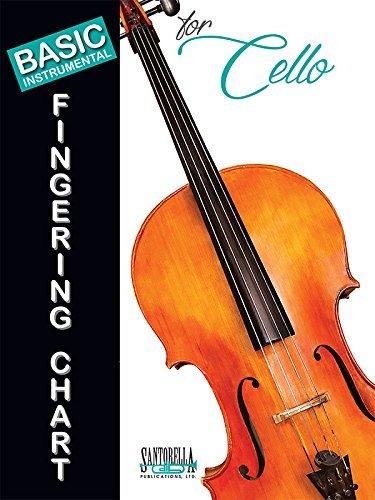Basic Fingering Chart for Cello