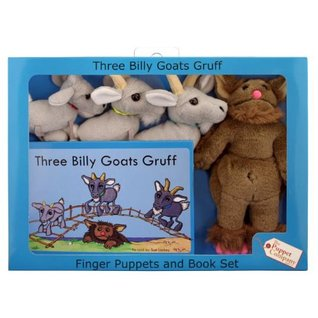 Three Billy Goats Gruff [With 4 Finger Puppets]